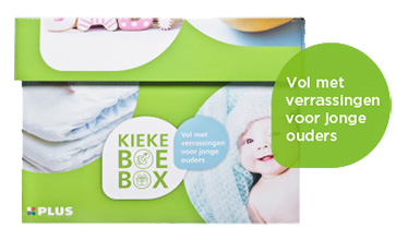 Kiekeboebox van Plus